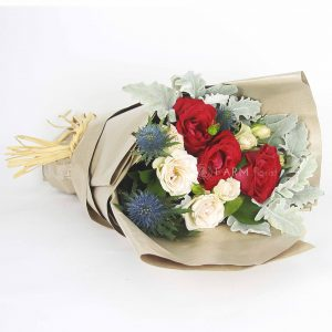 Diana Bouquet by Farm Florist Singapore Lying