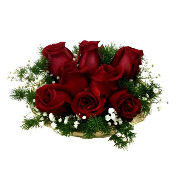 Scarlett-Roses-in-Basket-by-Farm-Florist-Singapore